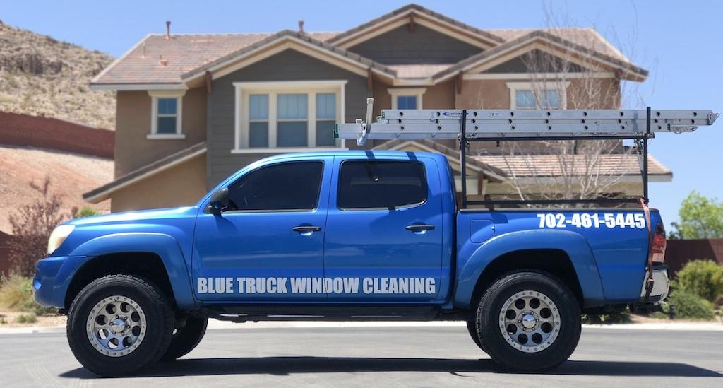 blue-truck-window-cleaning-las-vegas